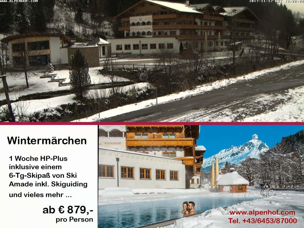 Webcam Hotel Alpenhof Filzmoos